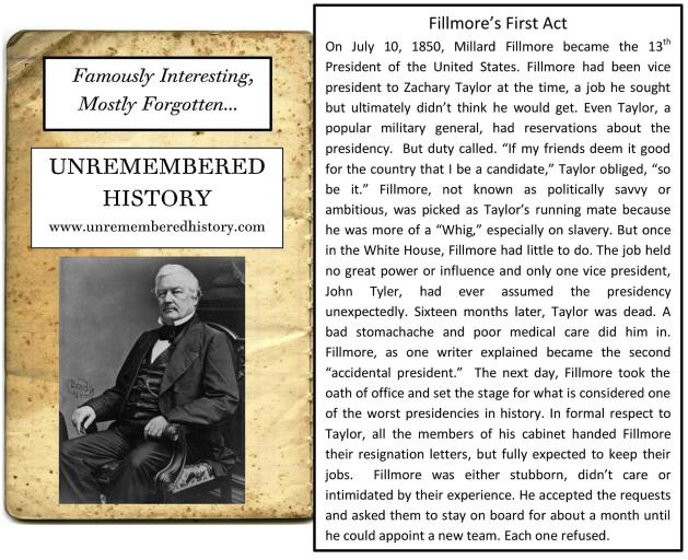 Fillmore'sFirstAct