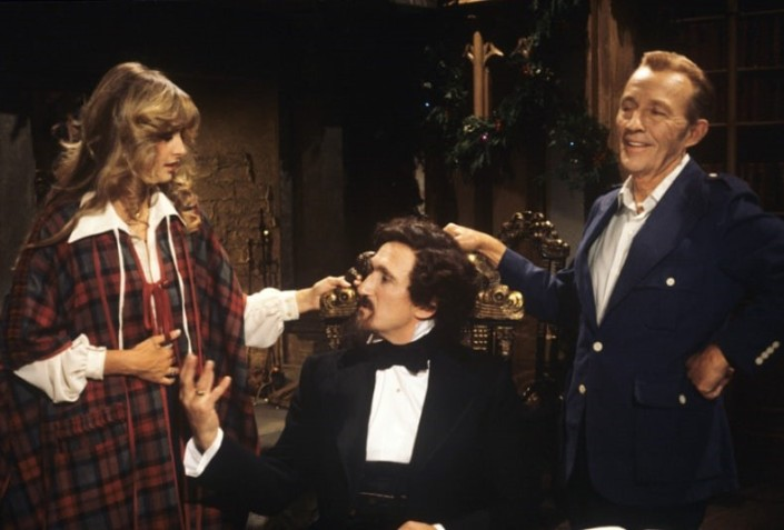 only a month after filming in october crosby died from an apparent heart attack the posthumously aired british themed christmas special - Bing Crosby Christmas Special