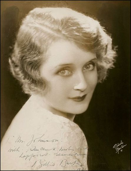 billie burke glinda the good witch of the north unremembered
